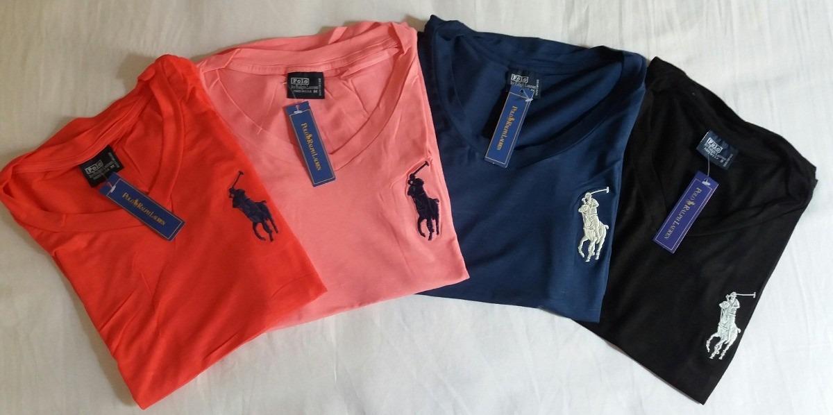 Camiseta Feminina Polo Ralph Lauren 1d5fba76d5b