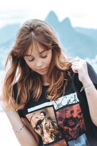 camiseta feminina seu cuca ao vivo 15 anos