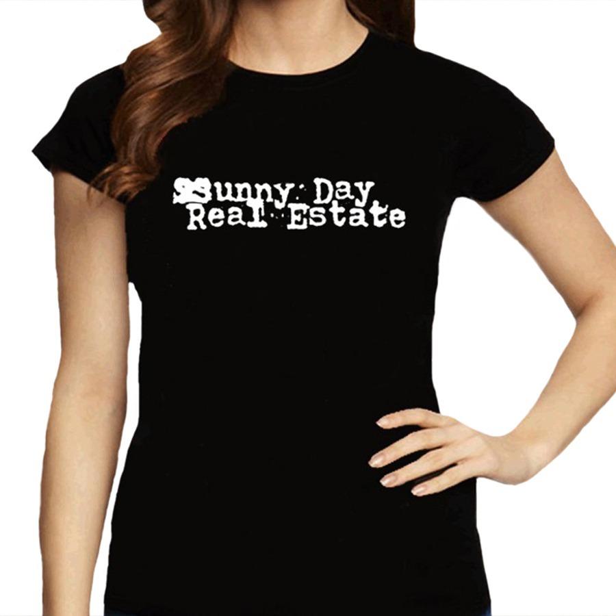 c900949c0 Camiseta Feminina Sunny Day Real Estate - 100% Algodão - R$ 59,88 em ...