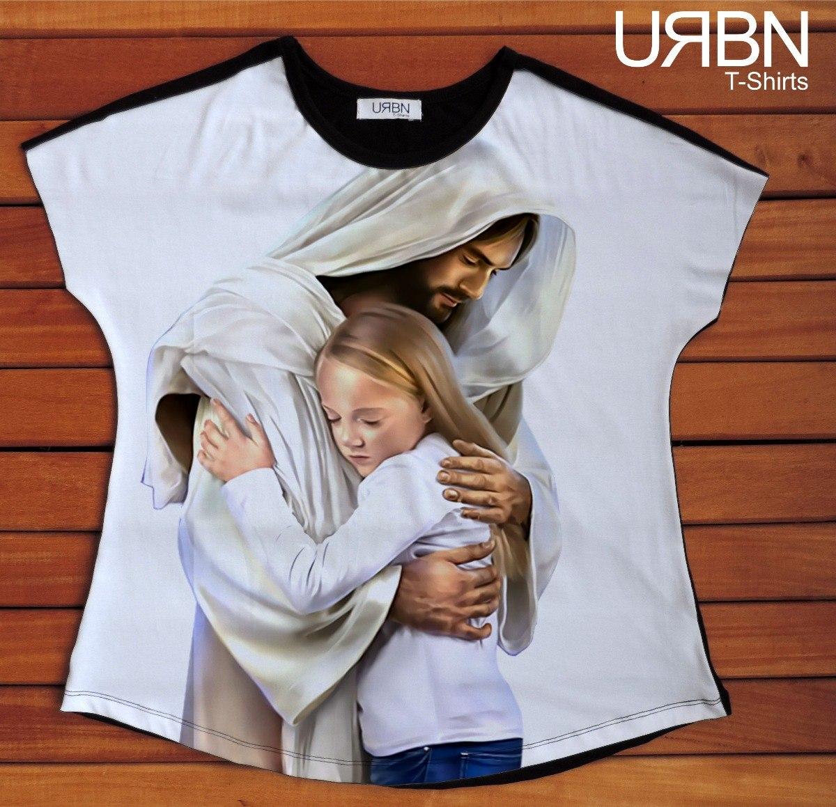 1494ae635 camiseta feminina t-shirt jesus cristo. Carregando zoom.