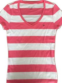 4b53af3419 Camiseta Feminina Tommy Hilfiger Original Tamanho P E M