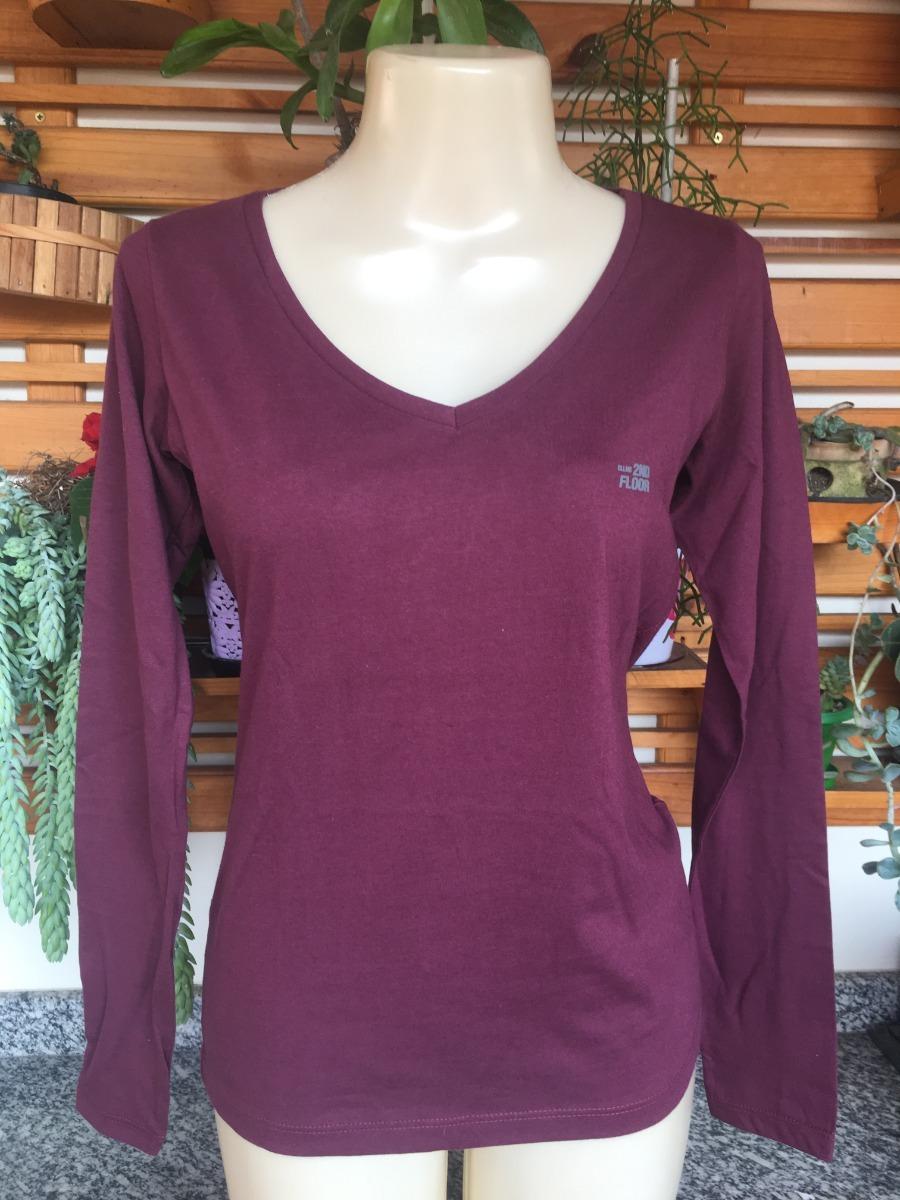 8f12ab06c Camiseta Feminino Ellus Original Tamanho P - R$ 80,00 em Mercado Livre