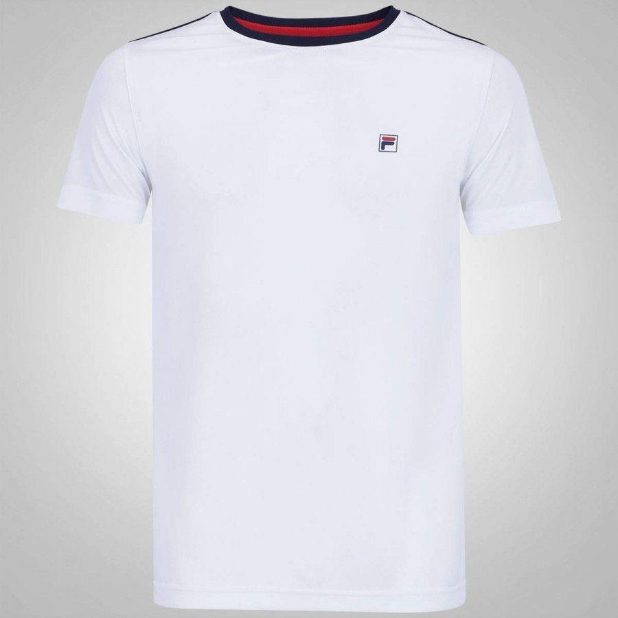 primer nivel mejor selección de linda Camiseta Fila Aztec Box - Masculina - Loja Física