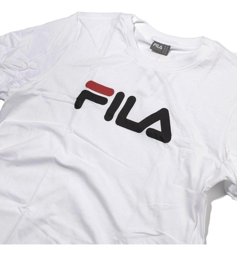 seleccione para oficial colores delicados muy genial Camiseta Fila Retrô Tendência 2018