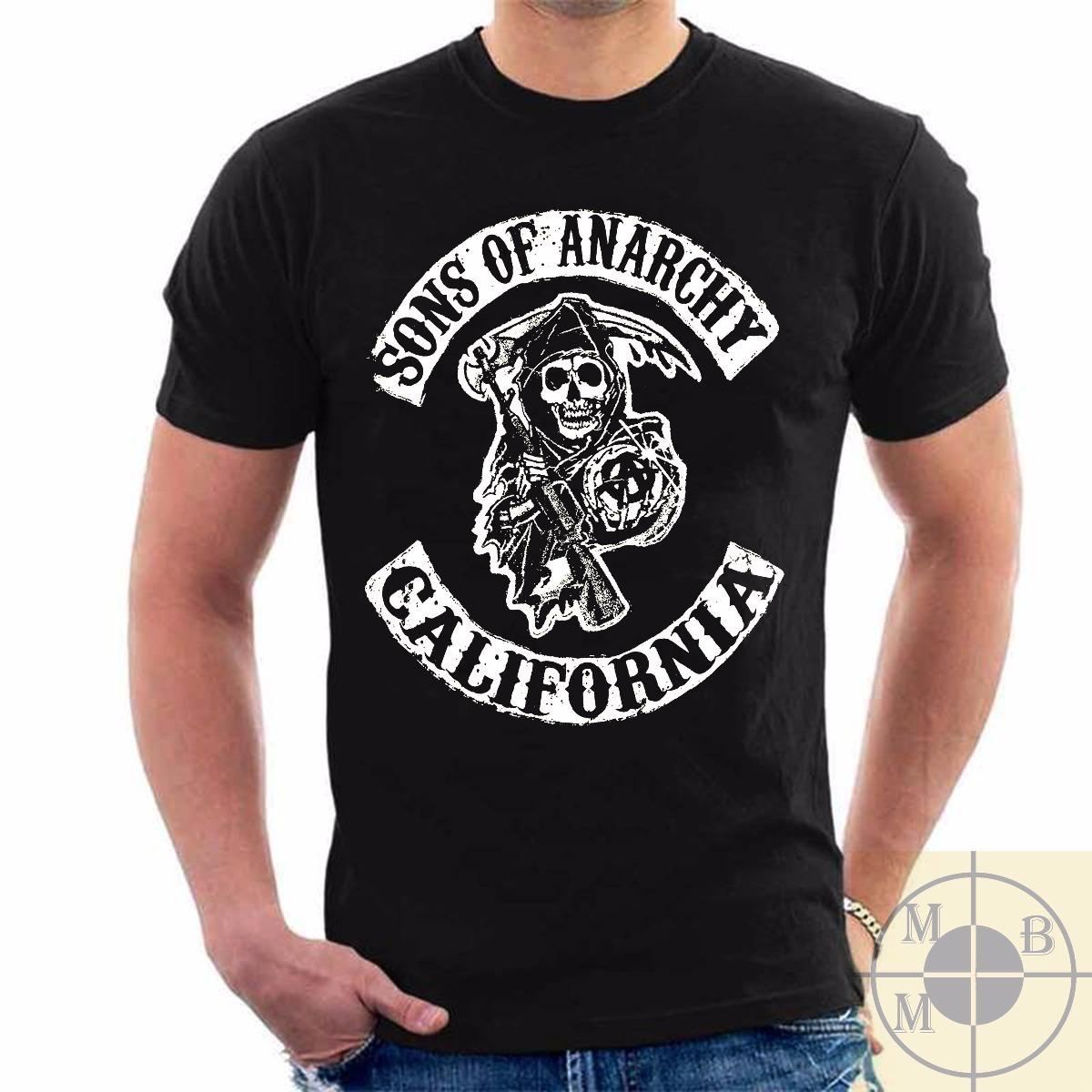 9ba1f10bb3181 camiseta filhos da anarquia geek netflix sons of anarchy. Carregando zoom.