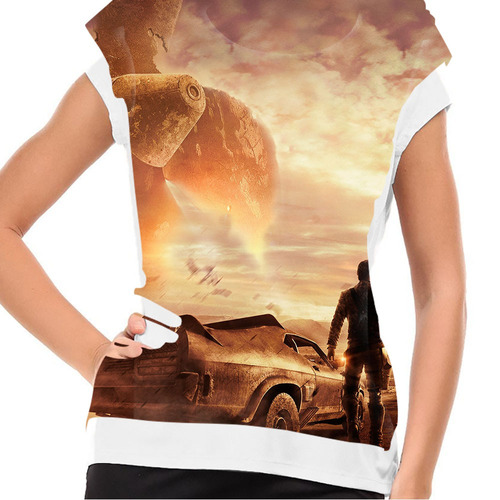 camiseta filme clássico mad max v8 baby look