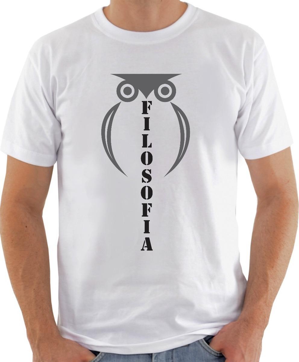5170fccc9 camiseta filosofia universitária personalizada unissex. Carregando zoom.