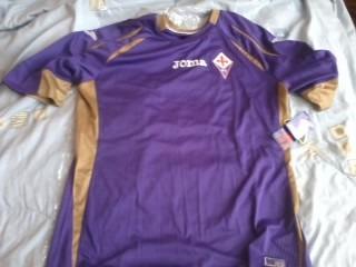 segunda equipacion Fiorentina hombre