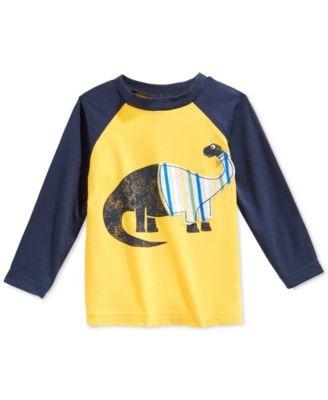 camiseta first impressions niño talla 6-9 meses manga larga