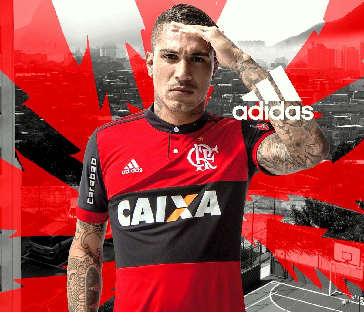 0878f5f063829 Camiseta Flamengo 17/2018(diego35, Vinícius.jr20, Guerrero9) - R ...