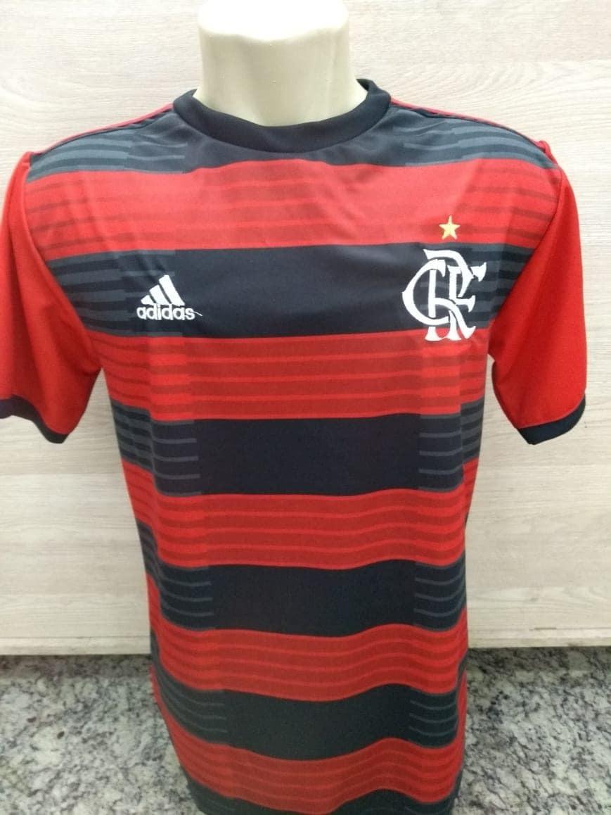 Camiseta Flamengo Oficial Unif.1 2018 2019 - R  50 c32bd01600019