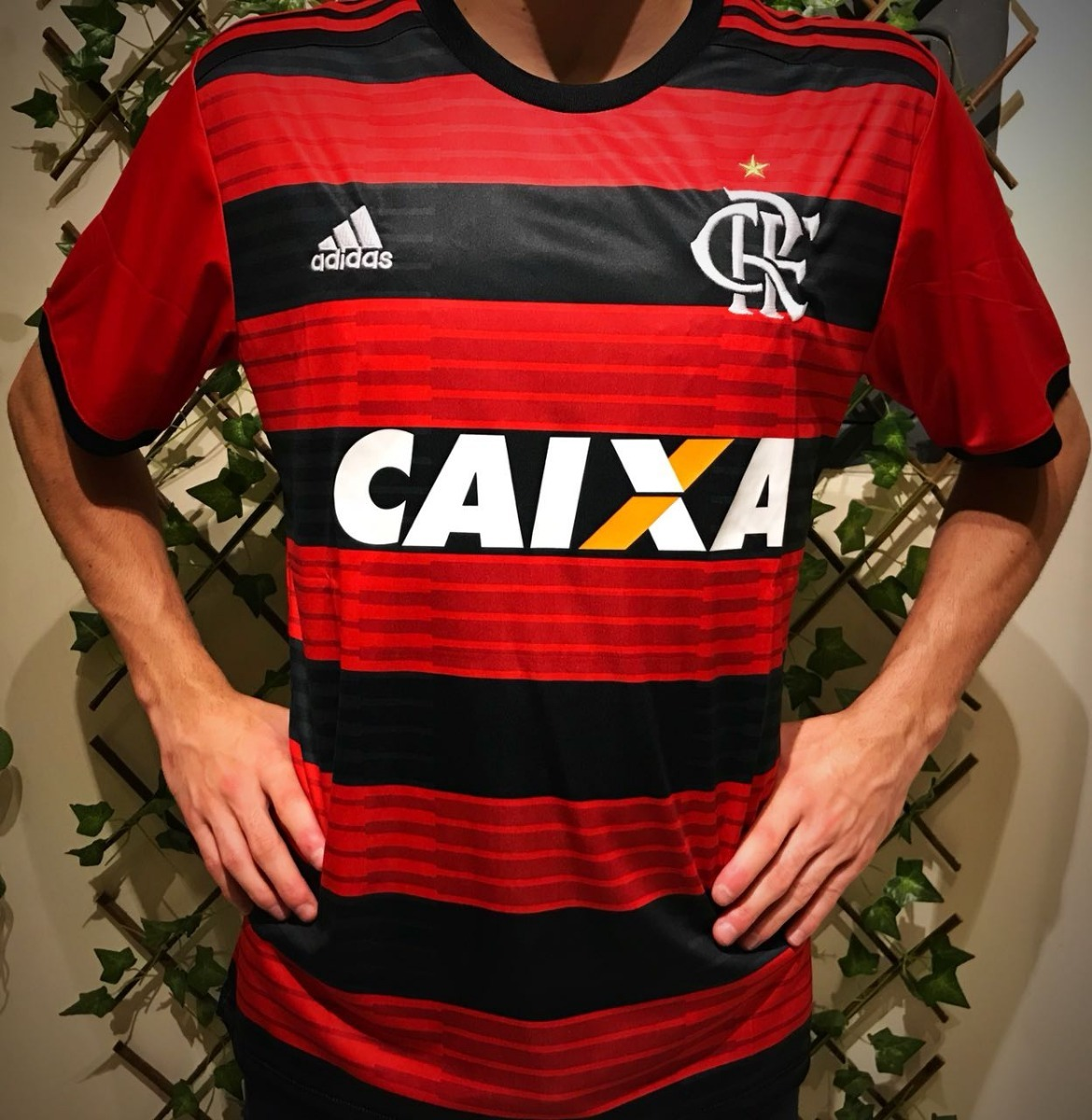 97ee5cf2e4 ... camiseta flamengo s patrocínio torcedor vermelha s n° home. Carregando  zoom. beb170beb67ddb ...