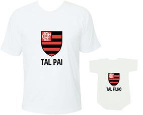 43a8754d703811 Camiseta Flamengo Tal Pai Tal Filho Times Carioca Futebol