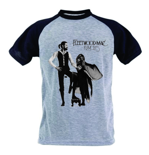camiseta fleetwood mac - rumors