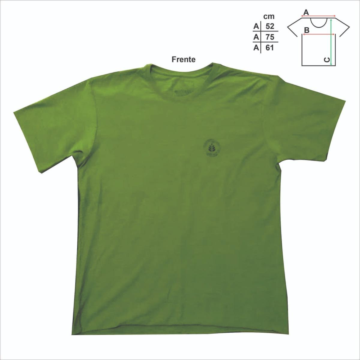 564d69abdb camiseta florest verde algodão texturizada gg. Carregando zoom.