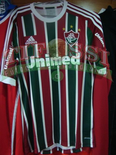 18803b5f5e3e3 Camiseta Fluminense adidas 2014 + Numero Oficial . Tifossi ...