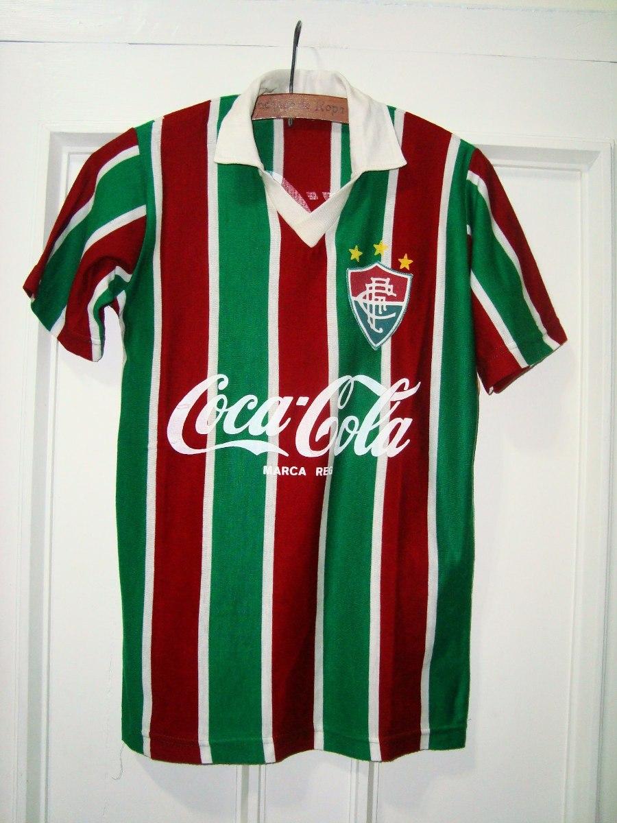 Camiseta Fluminense Años 70s 80s Sponsor Coca Cola -   450 13f87943caf7d
