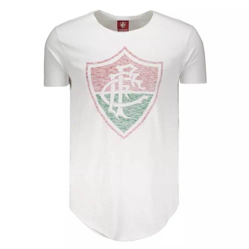 13ca609fc1 Camiseta Fluminense Escudo Avesso Oficial - R  54