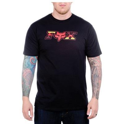 camiseta fox negra talla medium original t-shirt