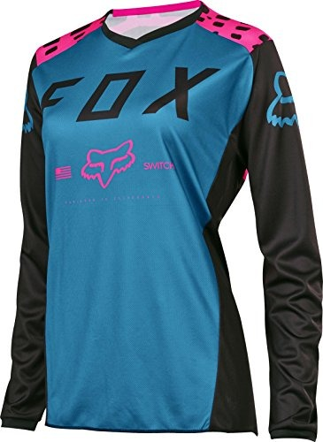 MujerColor Racing Fox 2017 Camiseta Para Negro Rosa Xs XkwOPZiuT