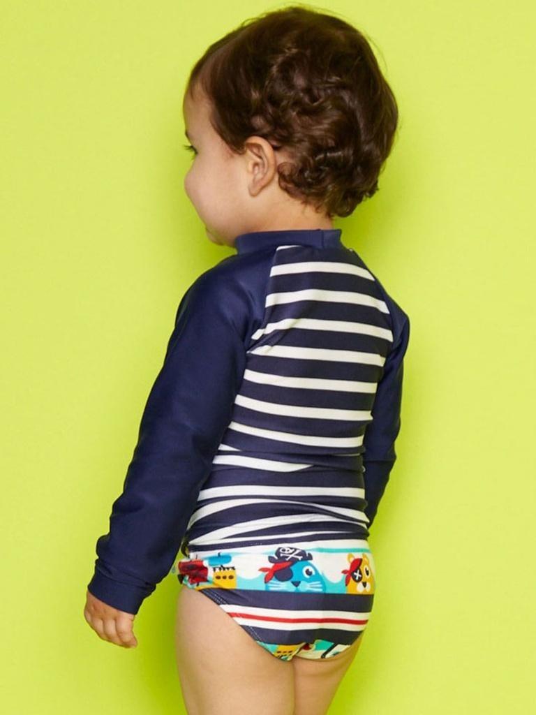 camiseta fps 50 bebê pinguim pirata puket. Carregando zoom. 1b4916971c5