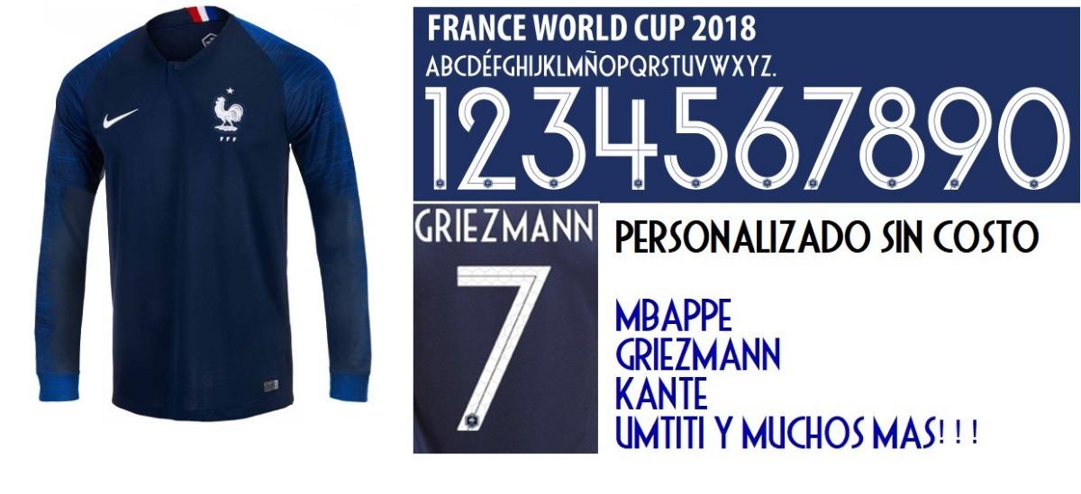 best authentic c411a 3afe7 camiseta francia 2018 rusia mundial nike titular mbappe 10. Cargando zoom.