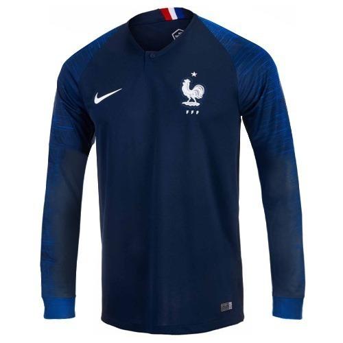 quality design b8eda c4369 camiseta francia 2018 rusia mundial nike titular mbappe 10