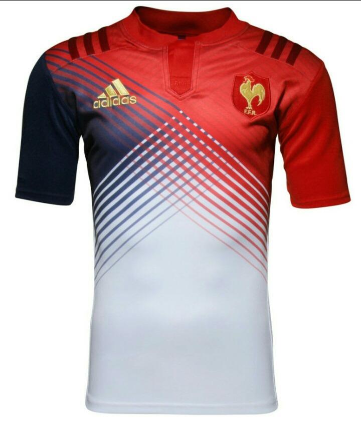 camiseta francia adidas rugby selecciones. Cargando zoom. 1e5b6a6f325f5