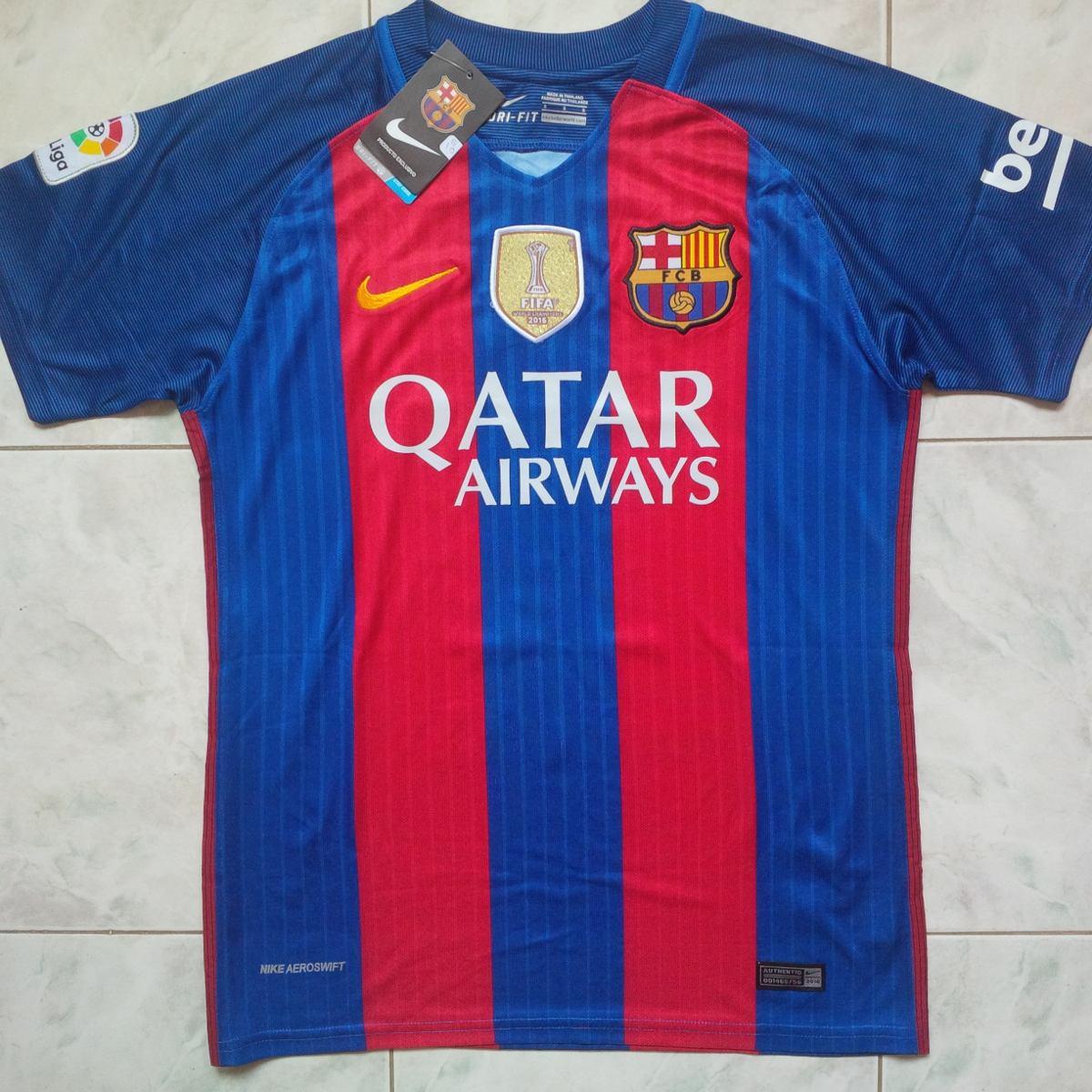 camiseta franela 2017 barcelona fc azulgrana local suarez. Cargando zoom. 24986126b2a