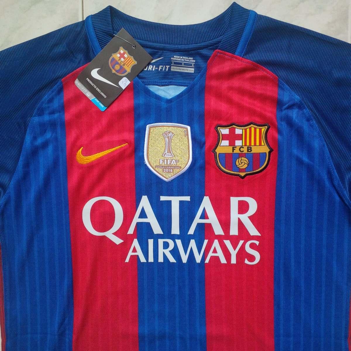 456ee11c087c6 camiseta franela 2017 barcelona fc azulgrana local suarez. Cargando zoom.