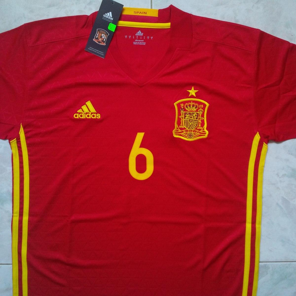 Camiseta Franela A1 España Local Eurocopa 2016 Iniesta Mata - Bs. 60 ... c07d3d173c406
