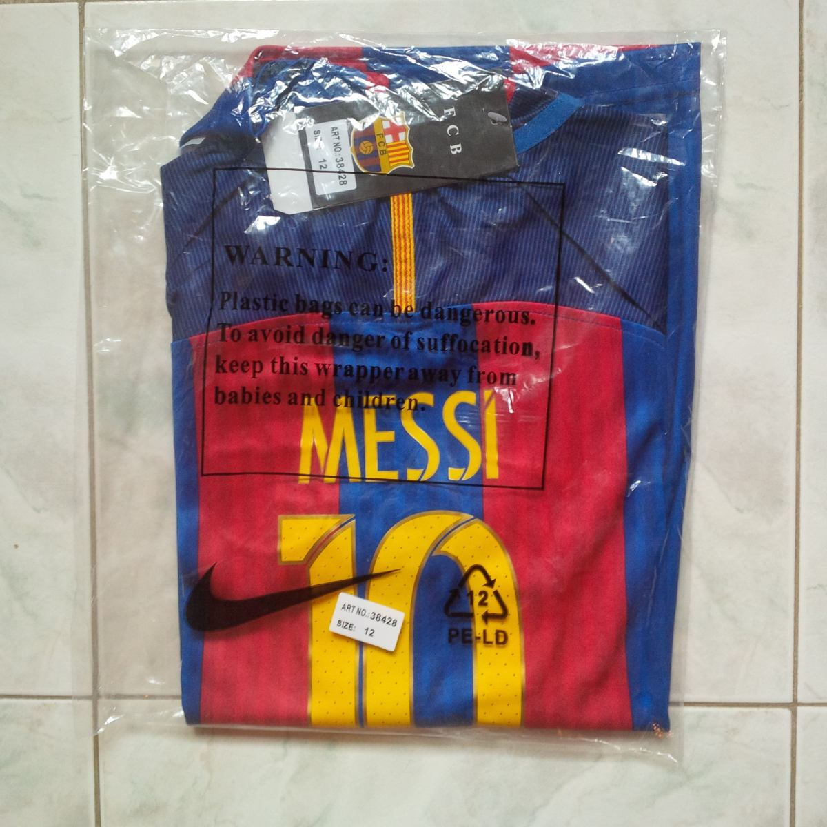 camiseta franela barcelona fc local 2016 2017 niños messi. Cargando zoom. 6cbc924b812