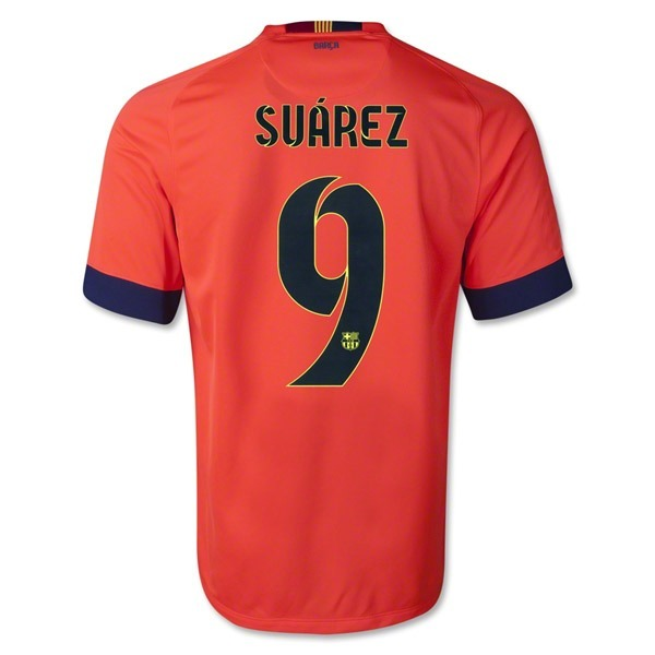 Camiseta Franela Naranja Barcelona Visitante Luis Suarez -   40.000 en  Mercado Libre cc73d89d6c39d