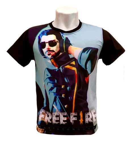 camiseta free fire - alok