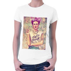 camiseta frida kahlo - daft punk - arte - pop