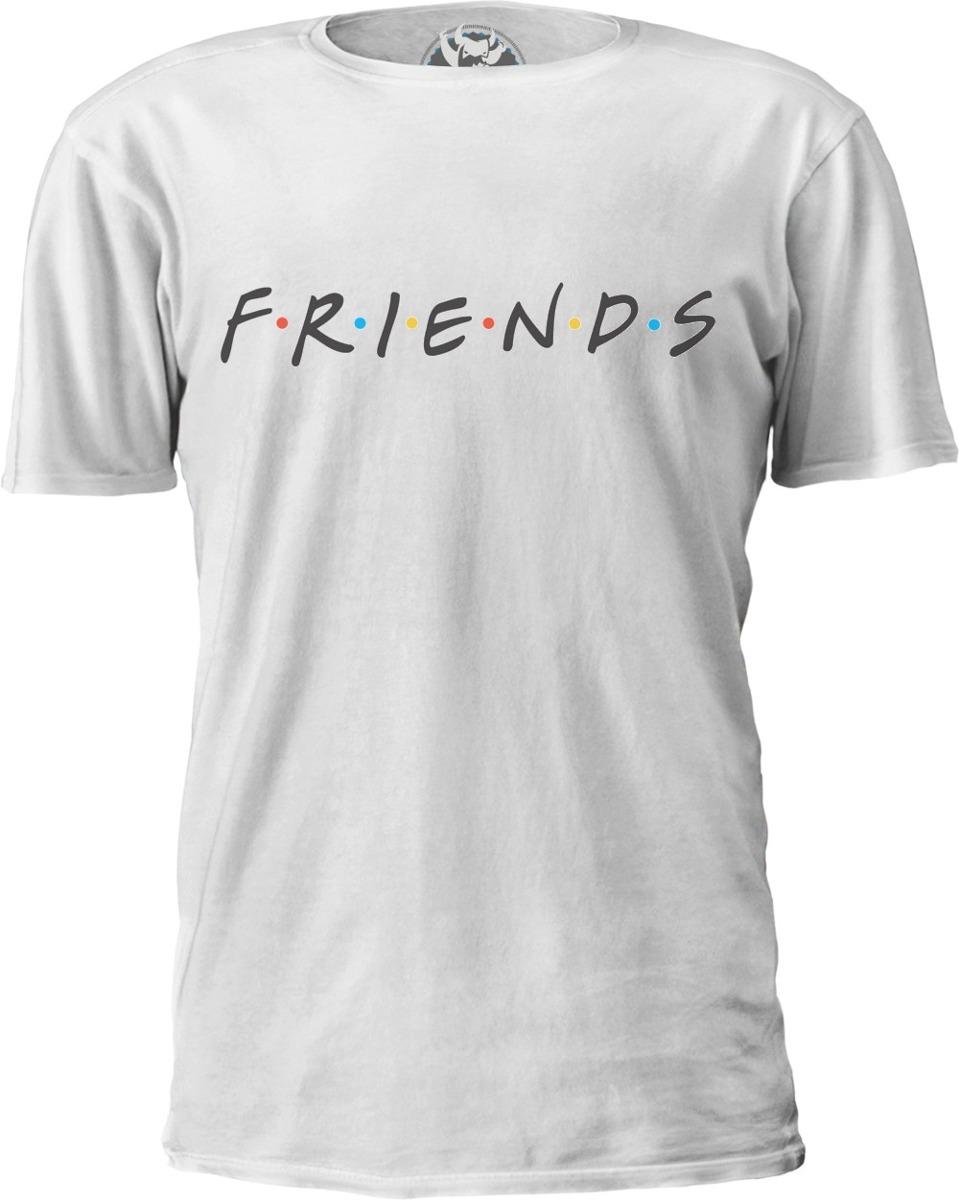 0c67b9669b camiseta friends logo f.r.i.e.n.d.s.. Carregando zoom.