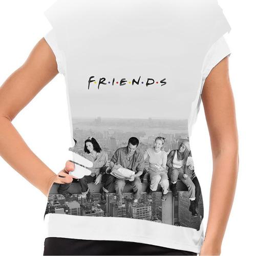 camiseta friends new york baby look
