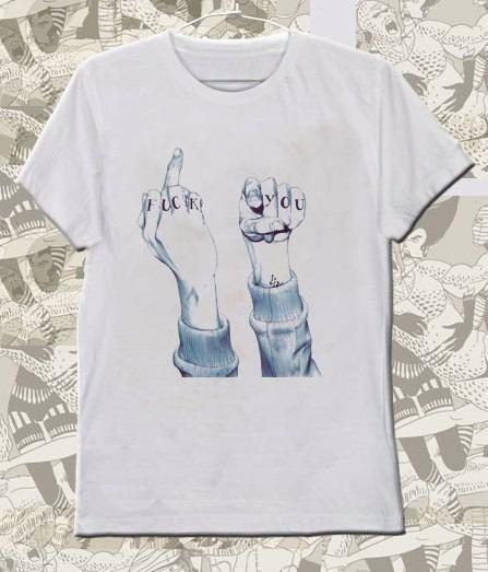 15575eb017 Camiseta Fuck You Divertida Frases Legal Baratas Alternativa - R  32 ...