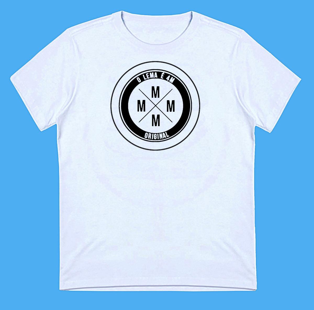 981a4c14e6733 Camiseta Funk Baby Look Preta Regata Branca 4m Rap A48-06 - R  35
