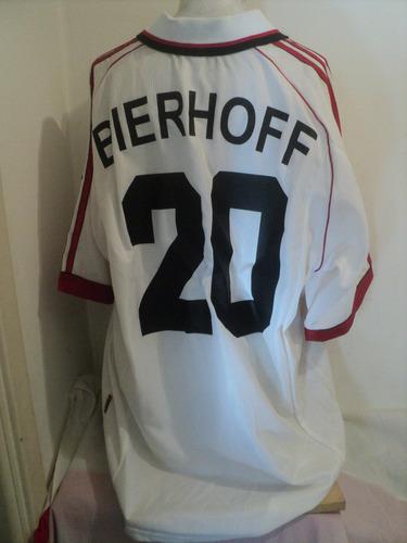 camiseta futbol adidas ac milan bierhoff nº20 opel italia