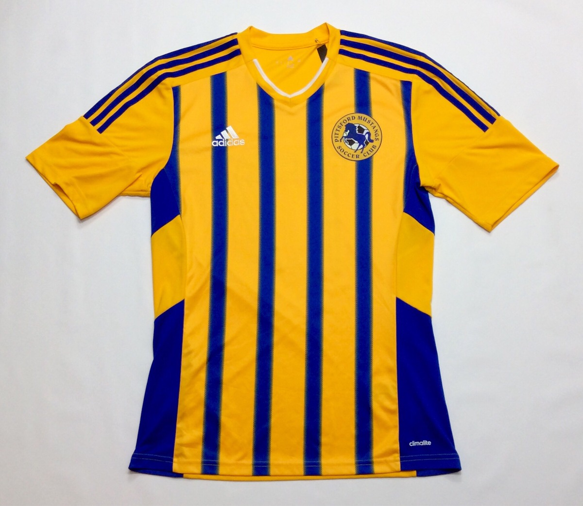 camiseta futbol adidas climalite pittsford mustangs 17 s. Cargando zoom. 93abaf8a4646e