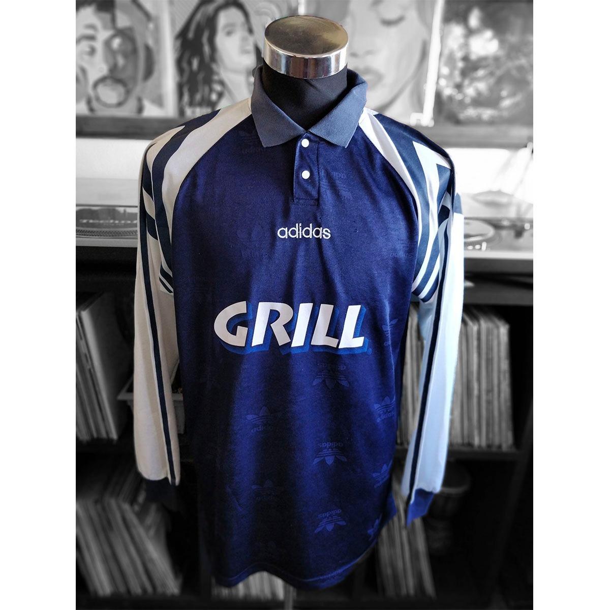 Camiseta Fútbol adidas Equipment Vintage 90 s 02a9922cbac92