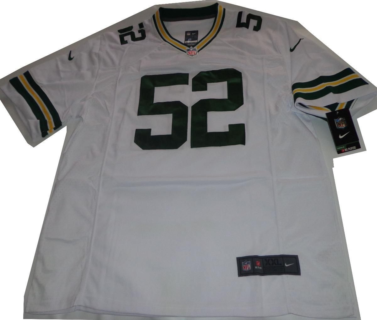 camiseta futbol americano green bay packers nike 2xl nfl usa. Cargando zoom. c45dcfbdd7c46