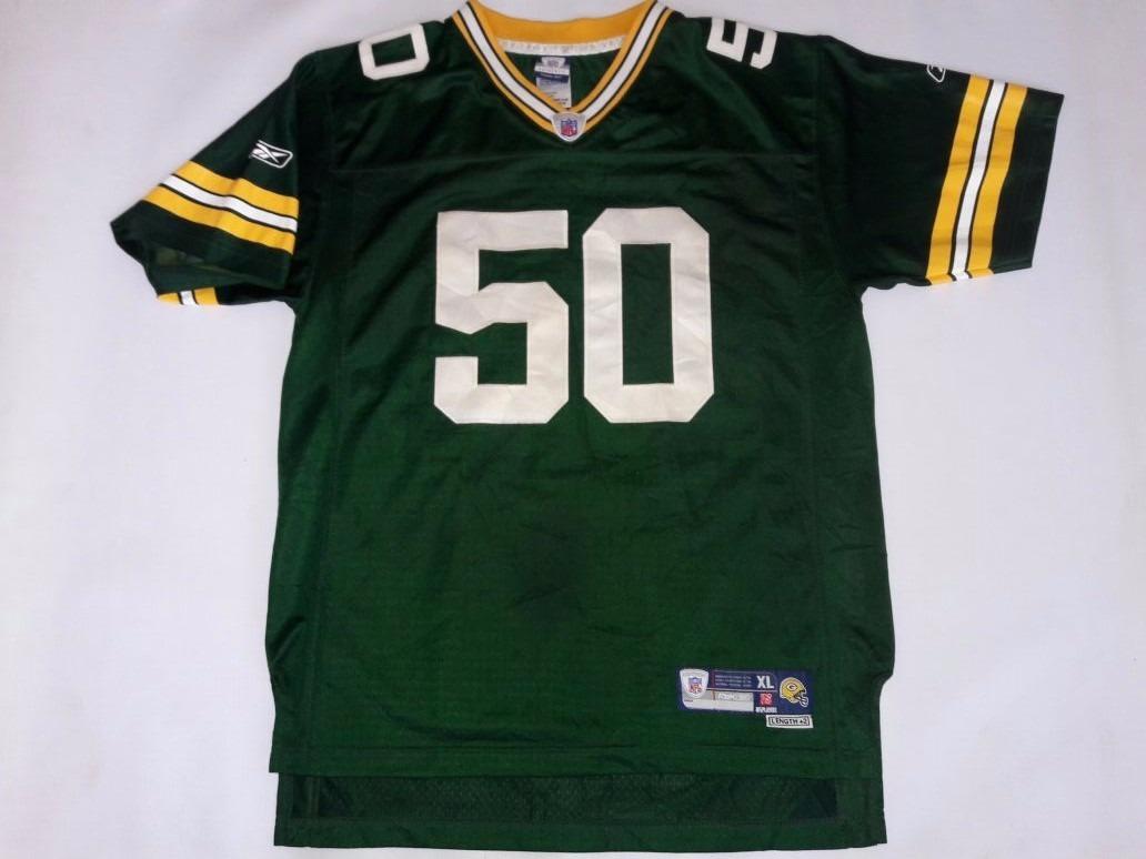 5bb014783c138 camiseta futbol americano green bay packers reebok 50. Cargando zoom.