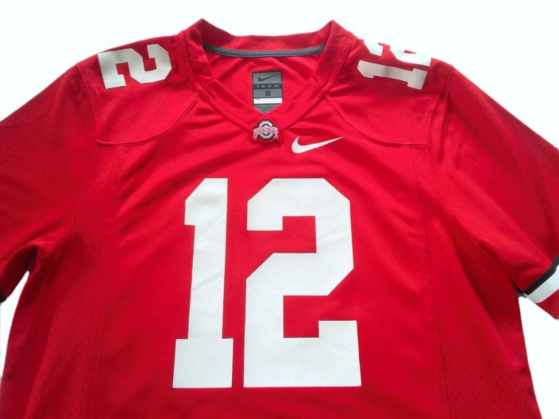bc6cb0d1629c4 camiseta futbol americano universidad ohio state nfl talle m. Cargando zoom.