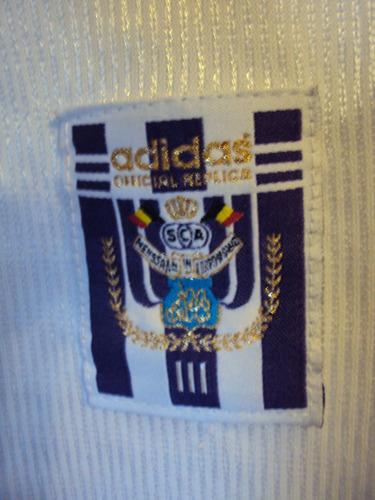 camiseta fútbol anderlecht bélgica adidas 1998 2000 t. m