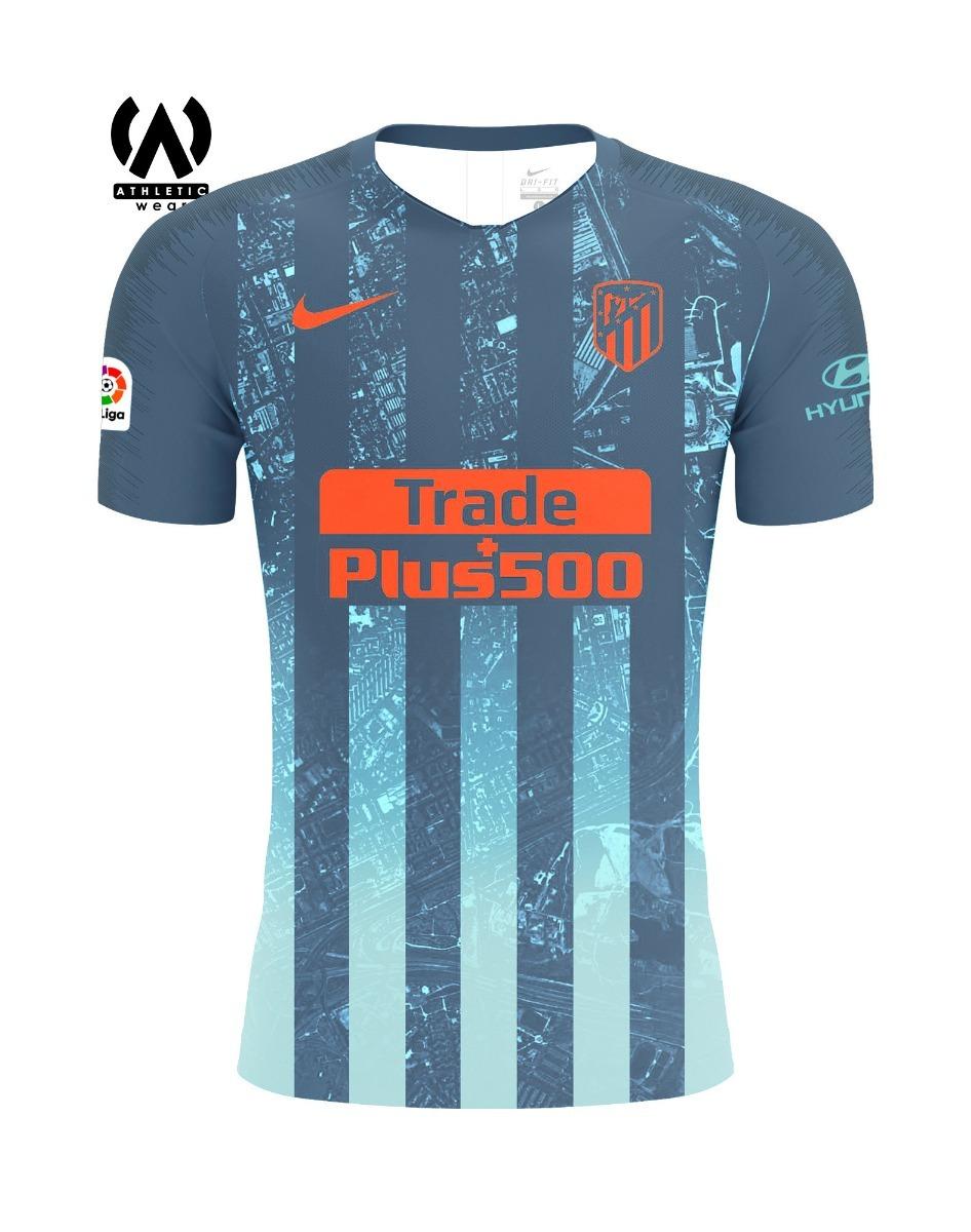 15968ae6edf25 camiseta fútbol atlético de madrid 2018 2019 alternativa. Cargando zoom.