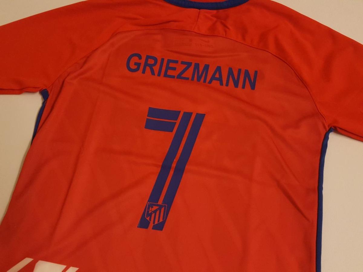 b7e346793ec96 camiseta futbol atletico madrid griezmann 7 de niño talle14. Cargando zoom.