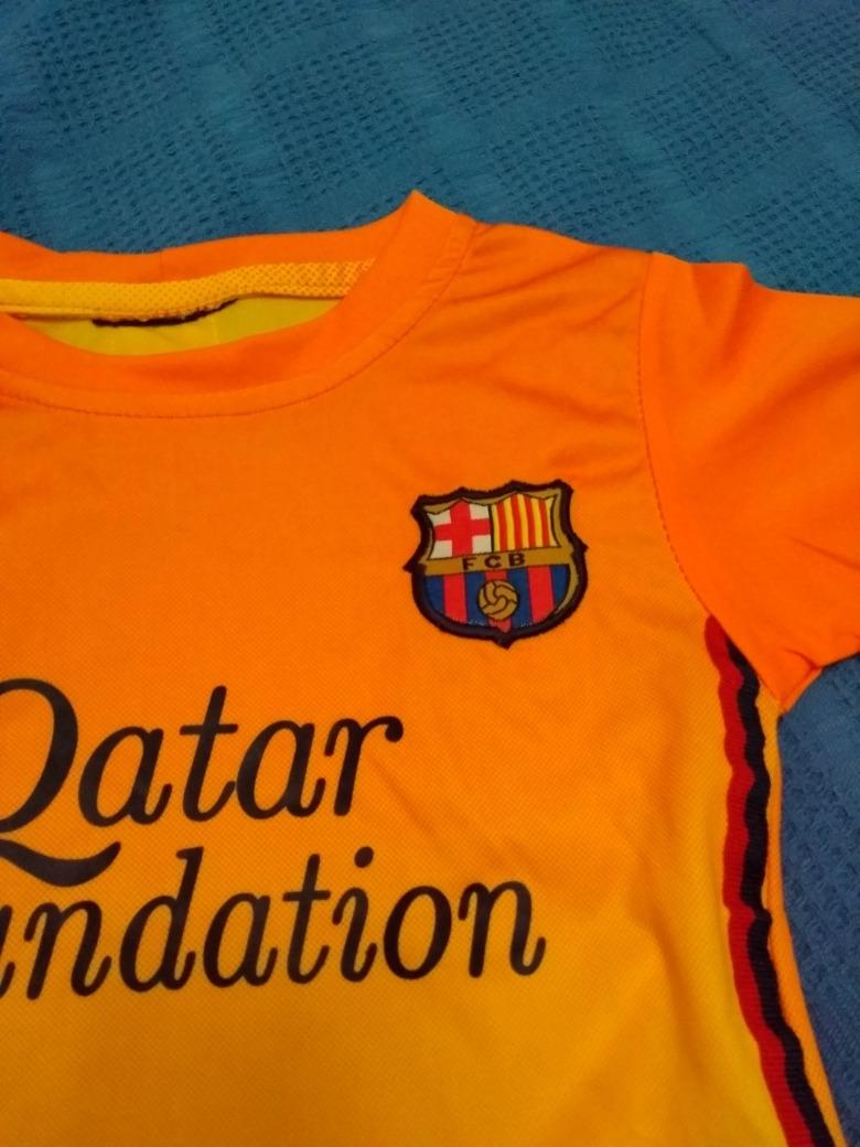 camiseta fútbol barcelona para bebés talle 24 meses y otra. Cargando zoom. a27496c6d36