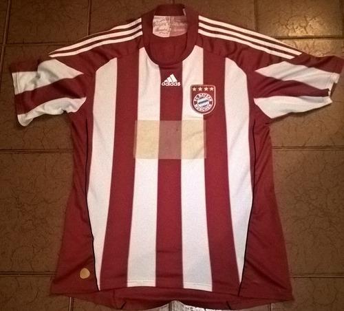 camiseta fútbol bayer munich alemania 2010 2011